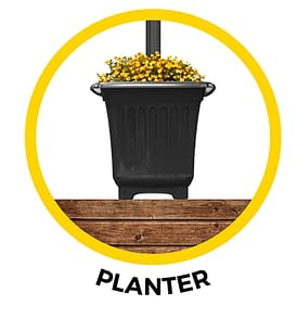 Planter for GS-105 Series 105PL880