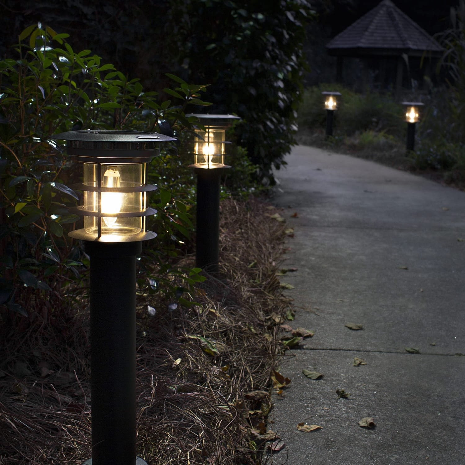 Stainless Steel Path Light - Black