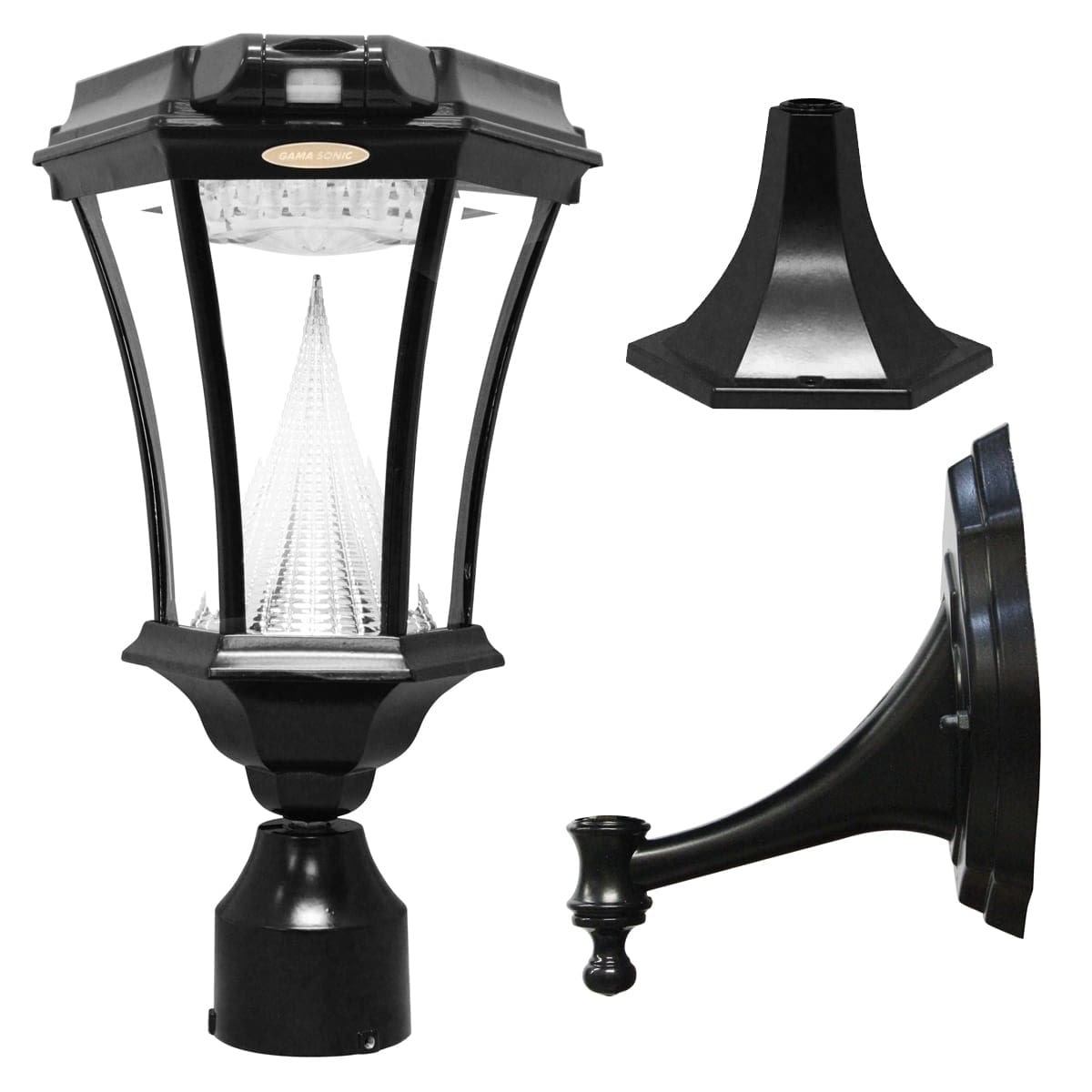 Victorian-Solar-Lamp-Post-Series GS-94FPW