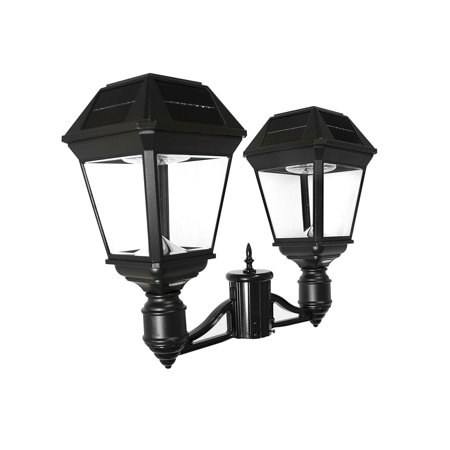 """Imperial III Commercial Solar Double Post Light with Dual Color Temperature and 3"""" Fitter 97KF20"""