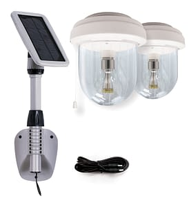 Gama Sonic Solar Outdoor Shed Light GS-16B2