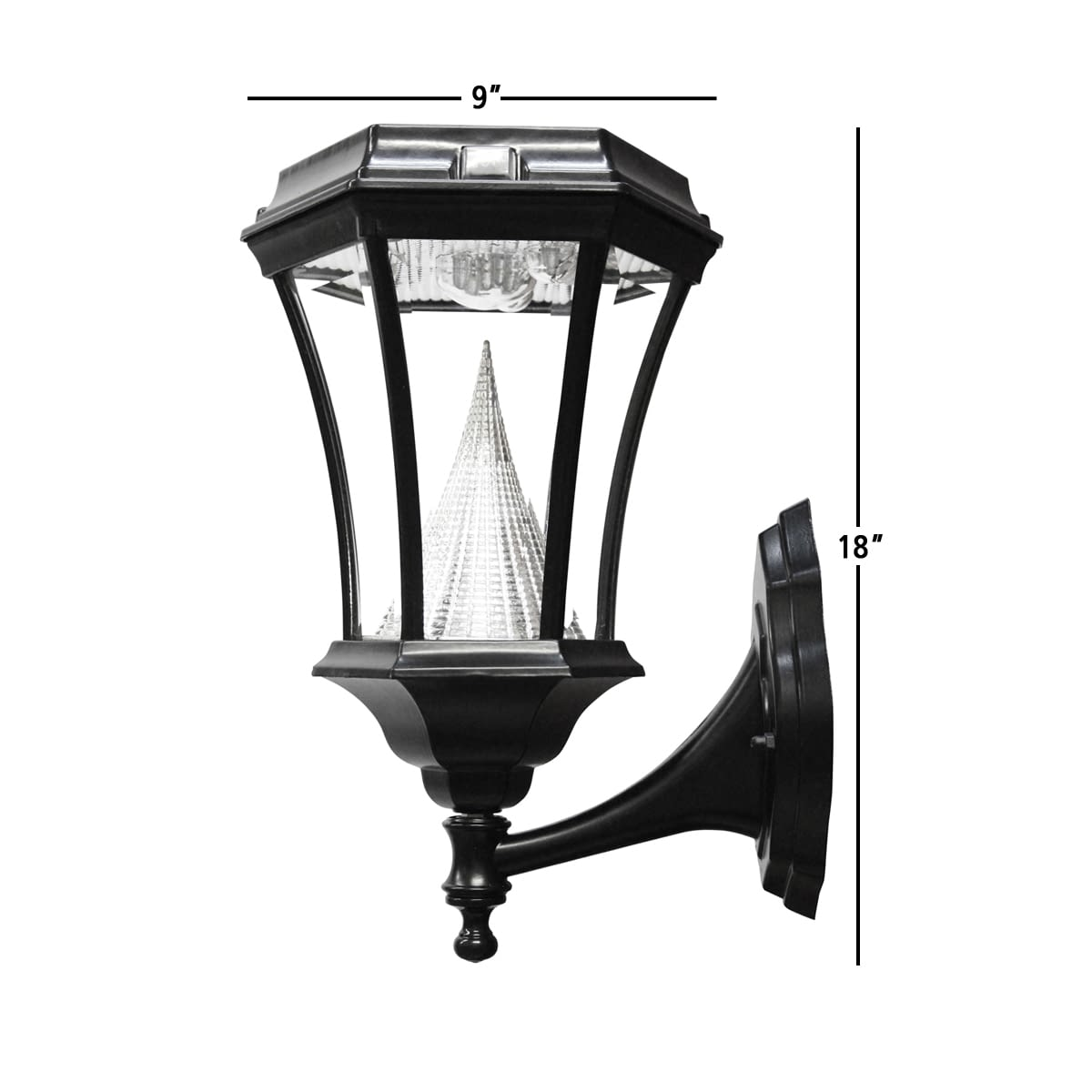Victorian Solar Lamp Post by Gama Sonic GS-94W