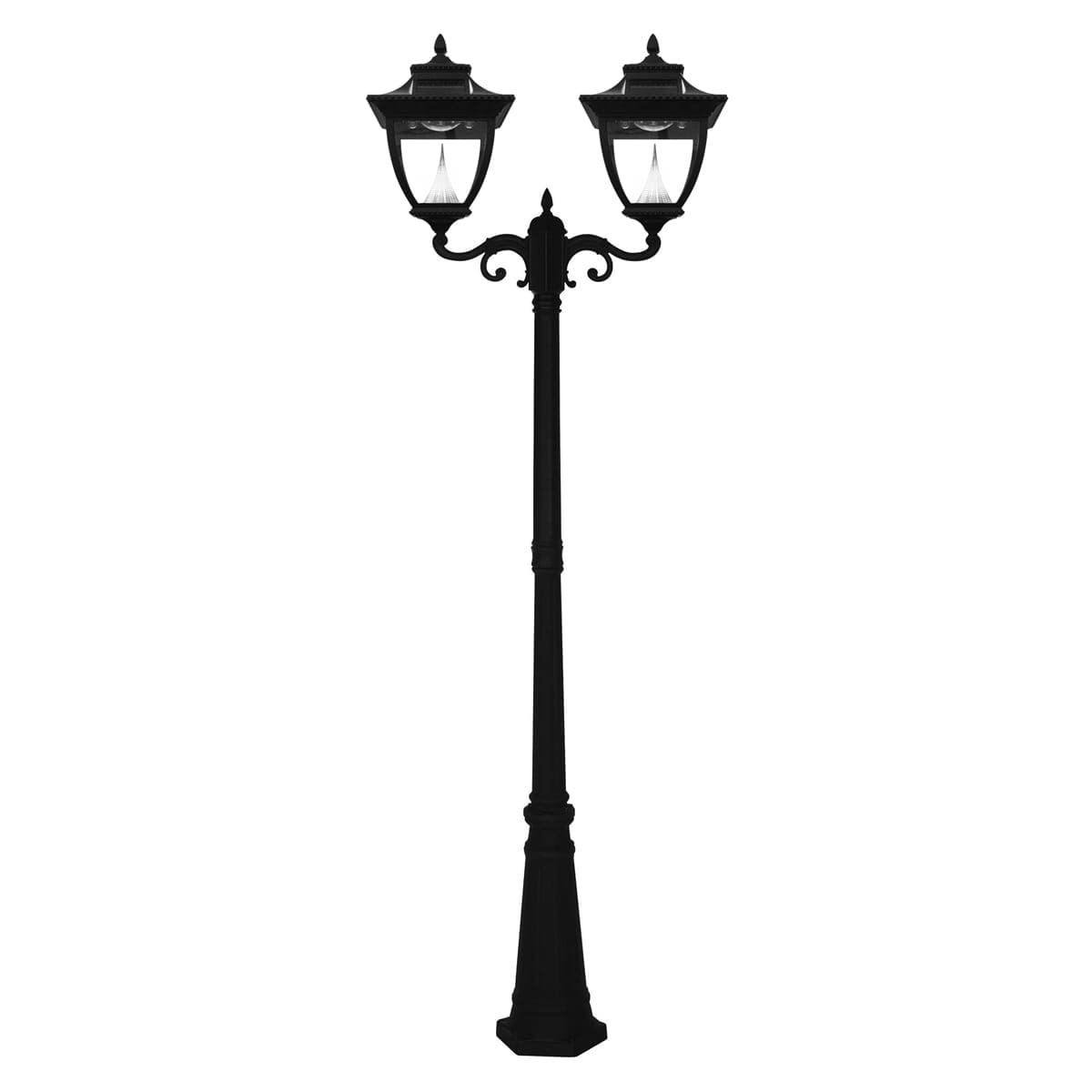 Pagoda Solar Lamp Post by Gama Sonic GS-104D