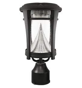 Aurora Solar Lamp Post by Gama Sonic GS-124F