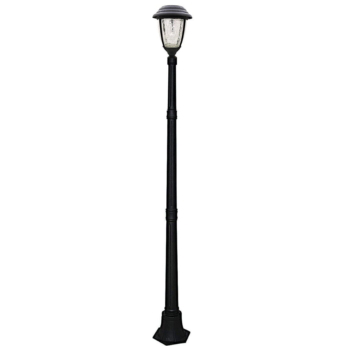 Candela Solar Lamp Post By Gama Sonic