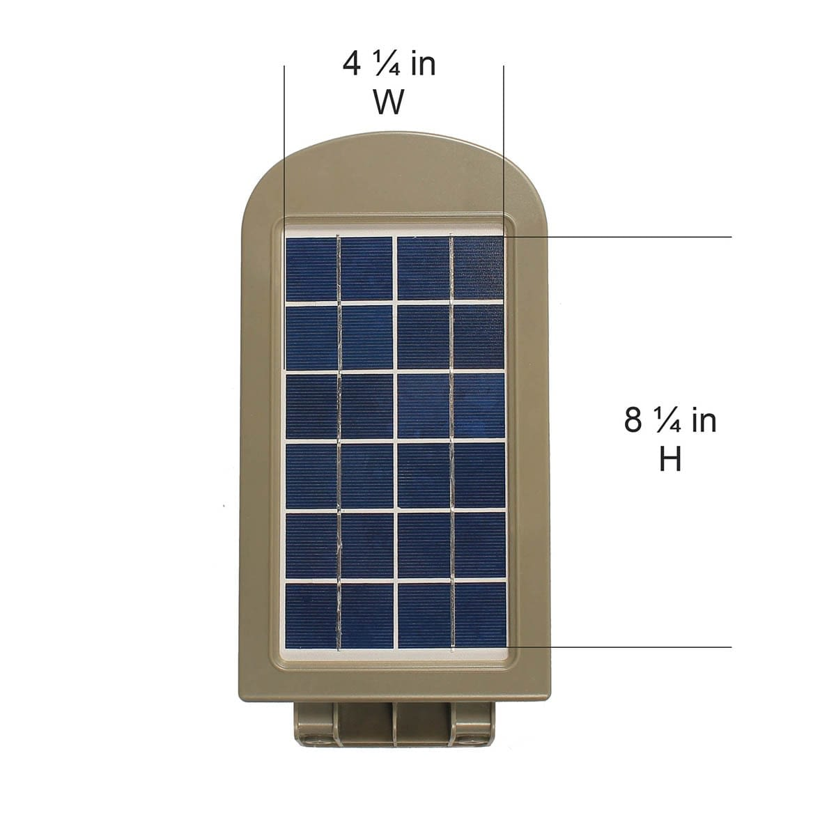 6W Solar Security Light