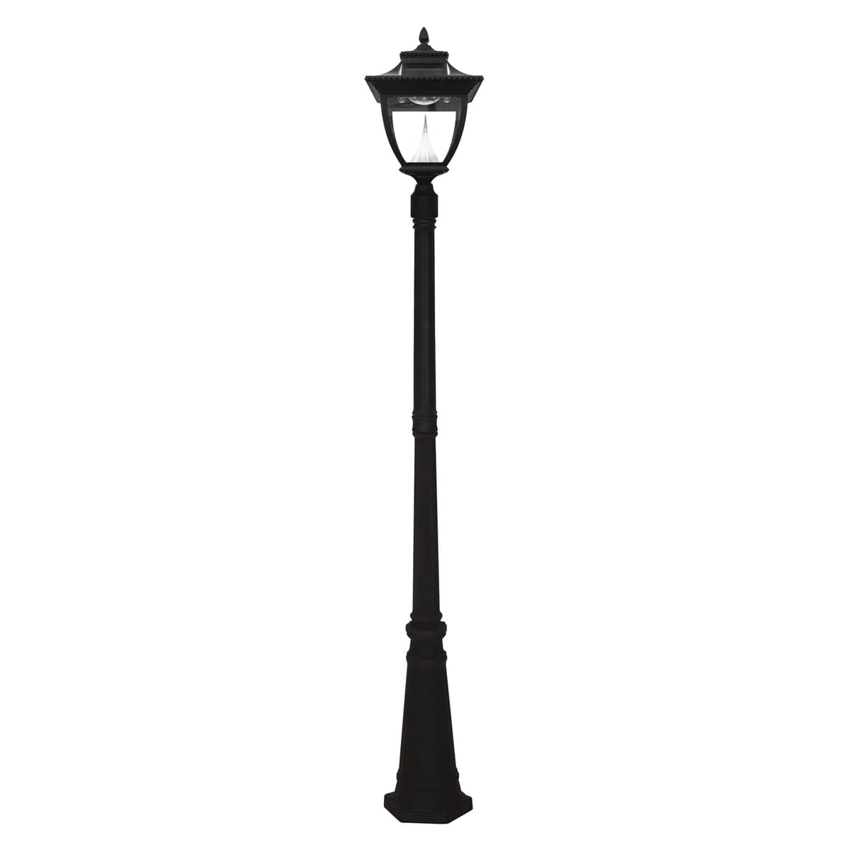 Pagoda Solar Lamp Post by Gama Sonic GS-104S-2