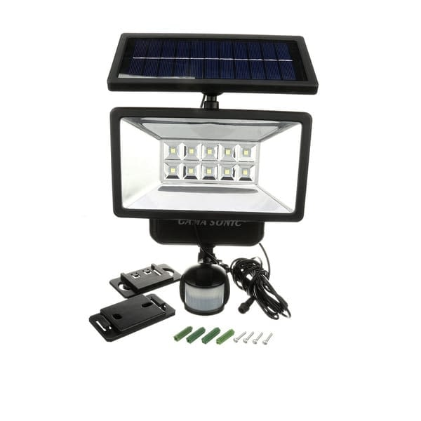 Gama Sonic Our Solar Security Light with Motion Sensor GS-10