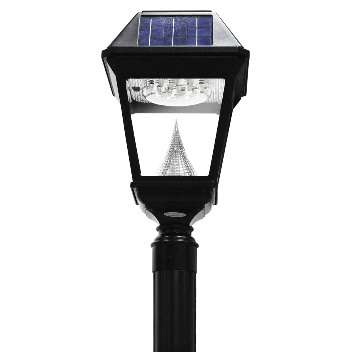 Gama Sonic Imperial II Series – Single Solar Lamp and Lamp Post GS-97NS