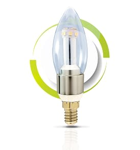 GS Solar LED Light Bulb C37