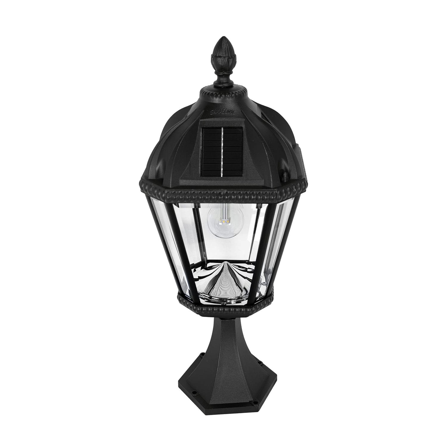 Royal Bulb Pier Mount Solar Lamp