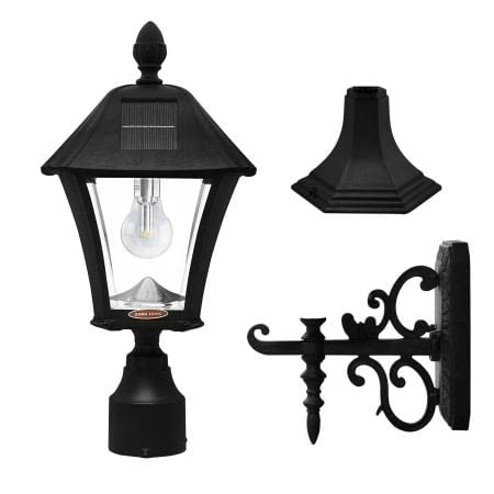 Baytown Bulb Solar Lamp with 3 Mounting Options
