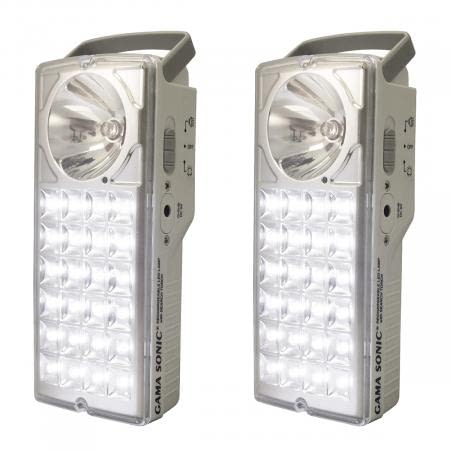 Emergency Rechargeable Lantern With Flashlight DL-972LS