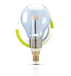 GS Solar LED Light Bulb A60