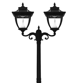 Pagoda Solar Lamp Post by Gama Sonic GS-104D-2