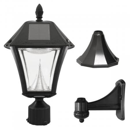 Baytown II Solar Lamp by Gama Sonic GS-105-FPW