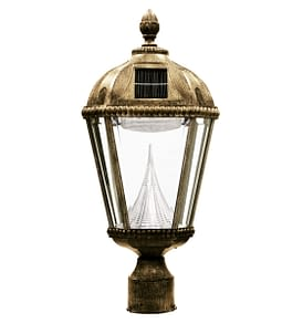 Royal Solar Lamp by Gama Sonic GS-98F-WB