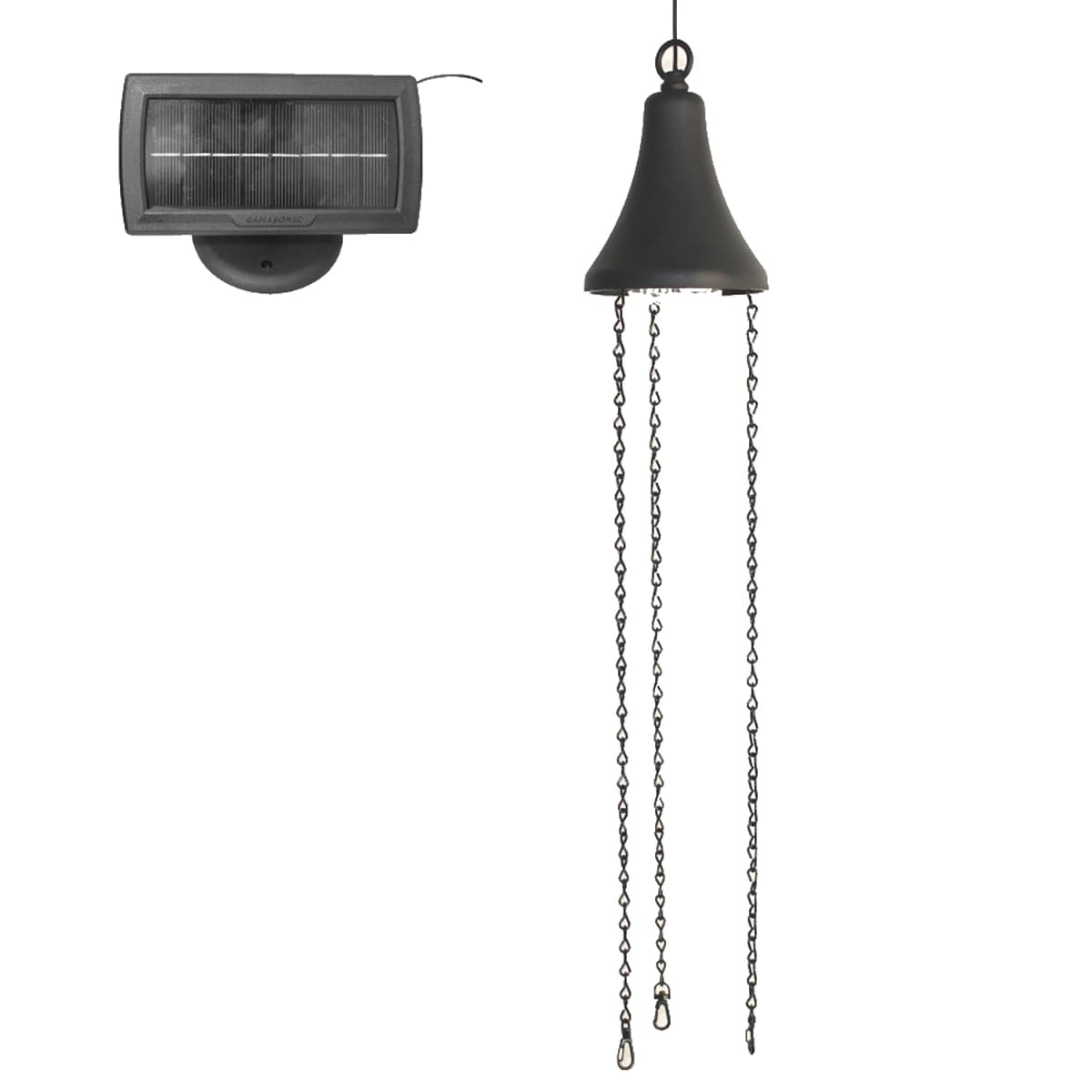 Hanging Solar Accent Light with Attachable Planter Basket GS-6