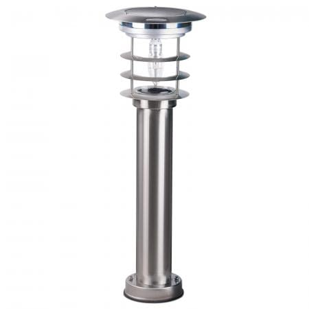 Gama Sonic Stainless Steel Bollard Solar Light GS-214 by Gama Sonic