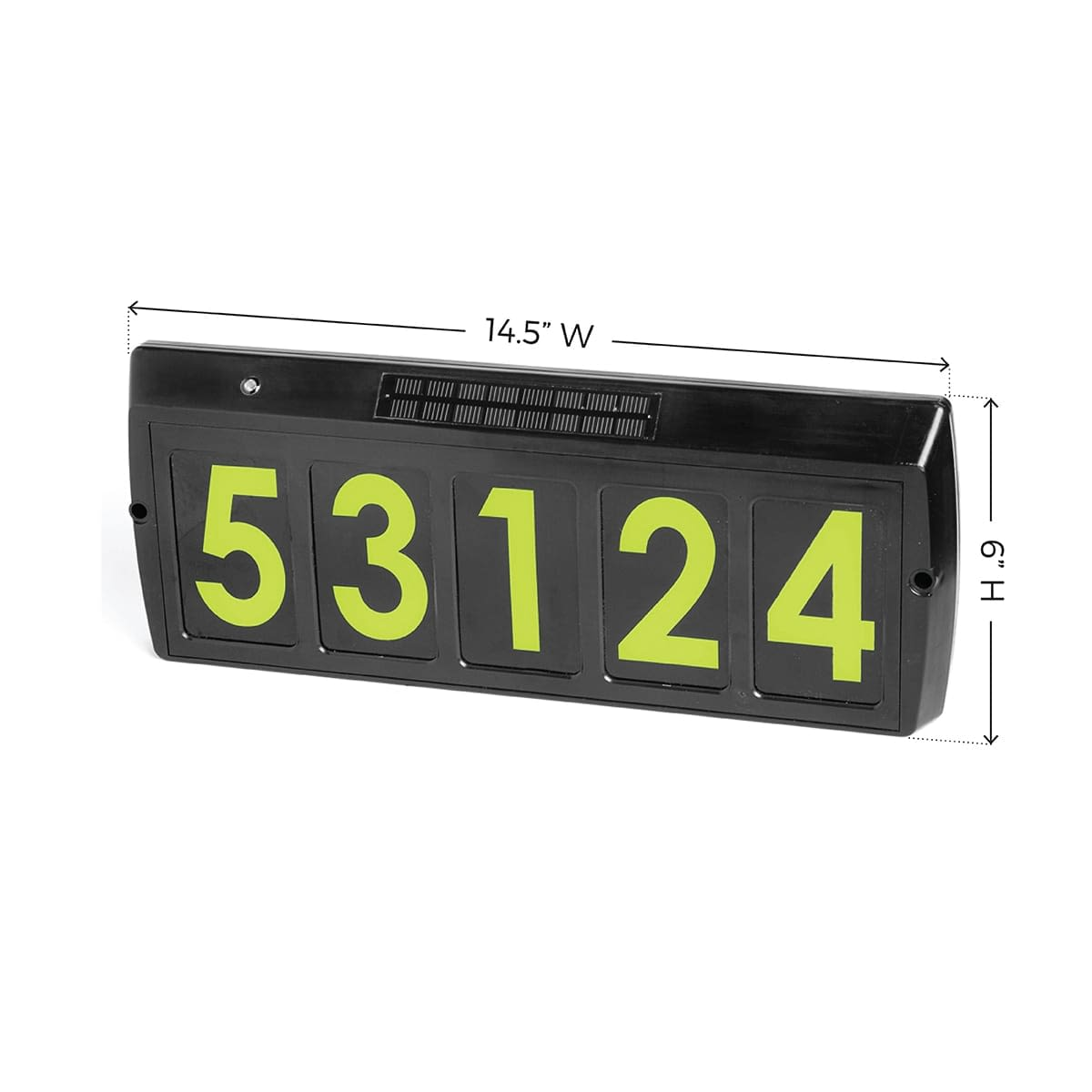 Solar Address Sign GS-80