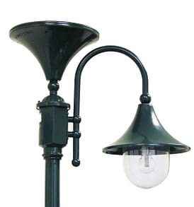Everest Solar Lamp Post with GS Solar LED Bulb GS-109S By Gama Sonic