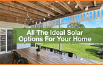 All The Ideal Solar Options For Your Home