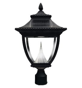 Pagoda Solar Lamp Post by Gama Sonic GS-104F