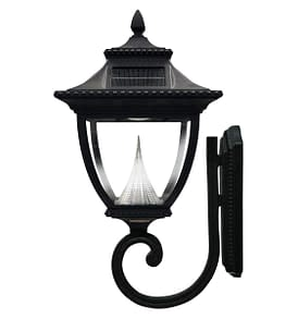 Pagoda Solar Lamp Post by Gama Sonic GS-104W