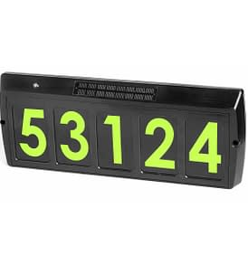 Solar Address Sign Gama Sonic GS-80