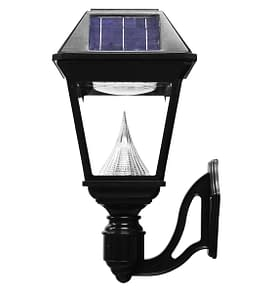 Imperial II Series – Single Solar Lamp with Wall Mount GS-97NW