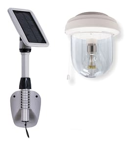 Gama Sonic Light My Shed IV Solar Powered Shed Light GS-16B