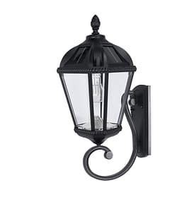 Royal Bulb Wall Mount Solar Lamp - Side View