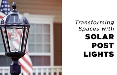 Solar Post Lights