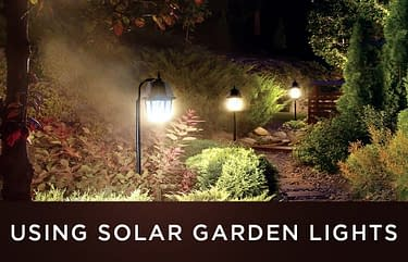 Using Solar Garden Lights