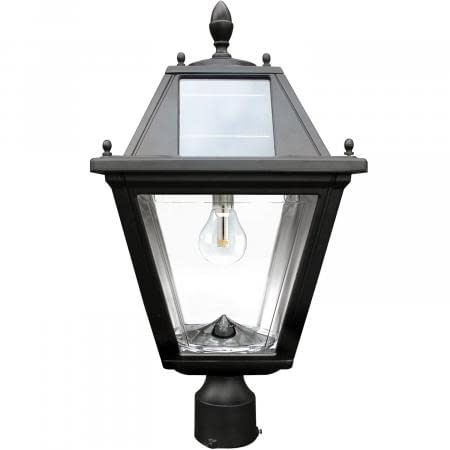 Gama Sonic Regal Solar Lamp with 3 Inch Pole Mount GS-300F