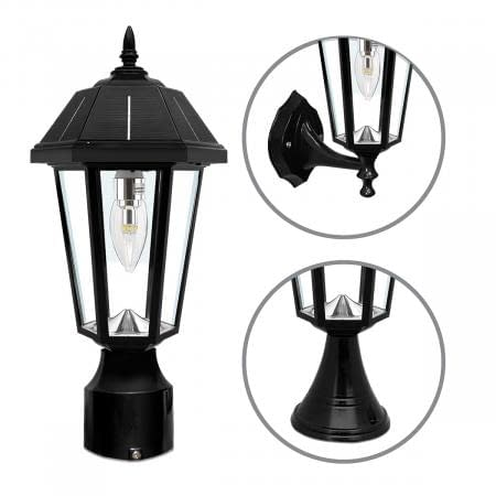 Gama Sonic Topaz Solar Hanging Lamp GS-149FPW by Gama Sonic